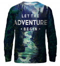 Adventure bluse med tryk