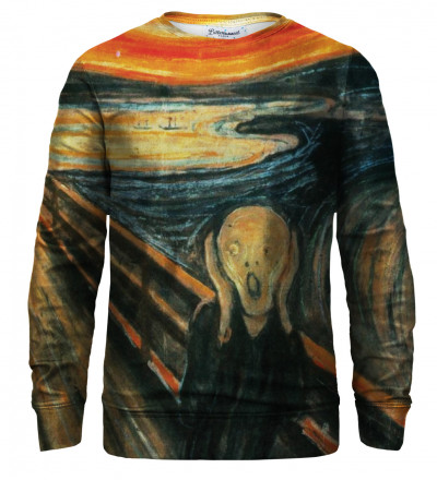 The Scream sweatshirt