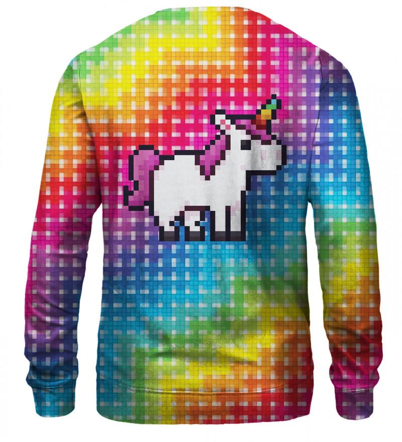 Pixel Unicorn sweatshirt