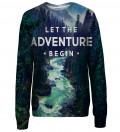 Adventure womens sweatshirt