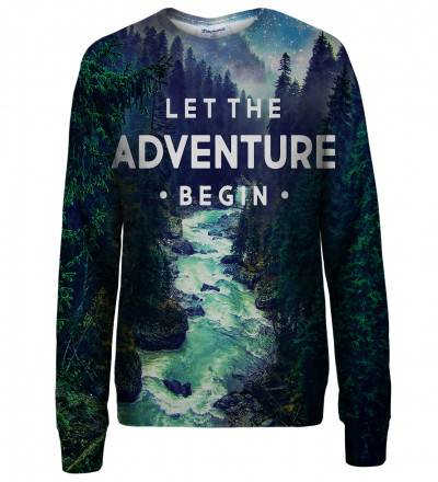Adventure womens sweatshirt
