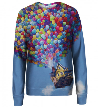Balloons womens sweatshirt