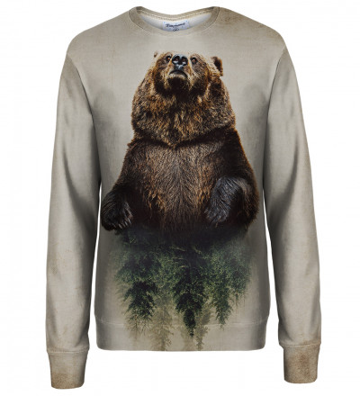 Bear womens sweatshirt