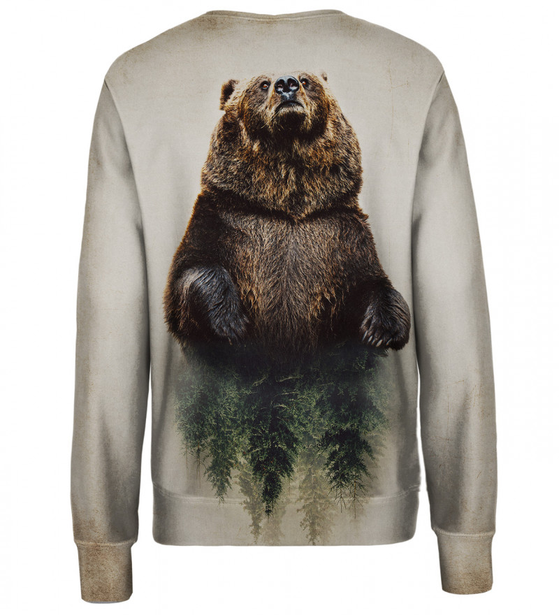 Bear womens sweatshirt