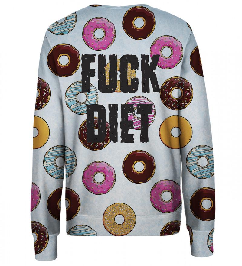 Diet womens sweatshirt