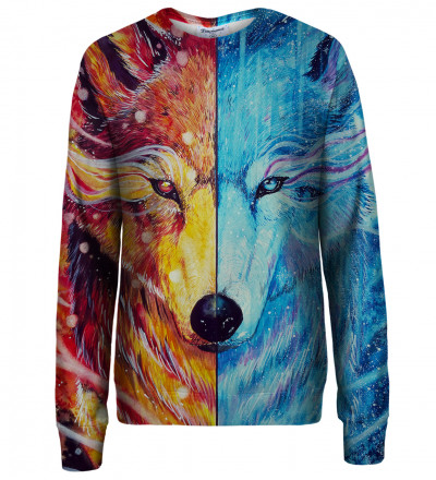 Fire and Ice womens sweatshirt