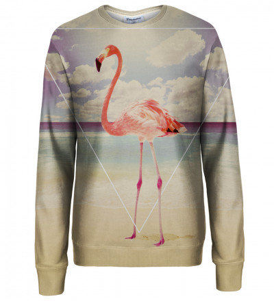 Flamingo womens sweatshirt