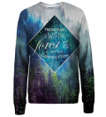 Forest womens sweatshirt