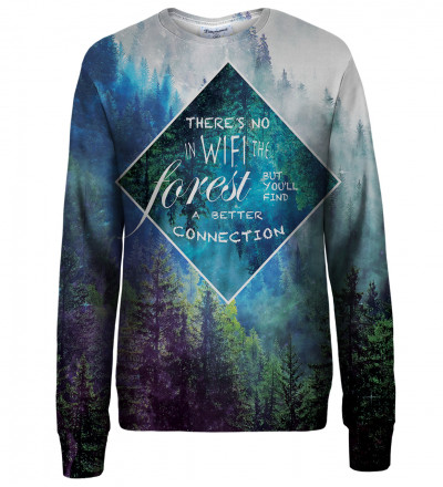 Forest womens sweatshirt