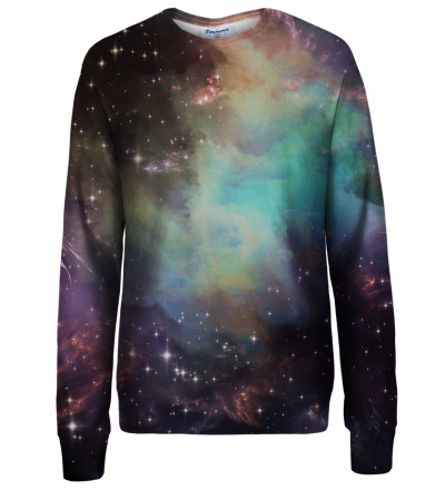 Galaxy Clouds womens sweatshirt