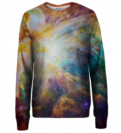 Galaxy Nebula womens sweatshirt