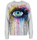 Eye womens sweatshirt