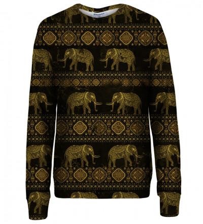 Golden Elephants womens sweatshirt