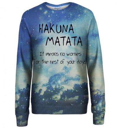 Hakuna Matata womens sweatshirt