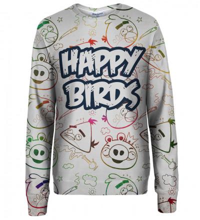 Happy Birds womens sweatshirt