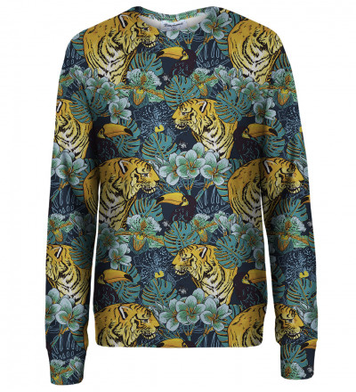 Jungle womens sweatshirt