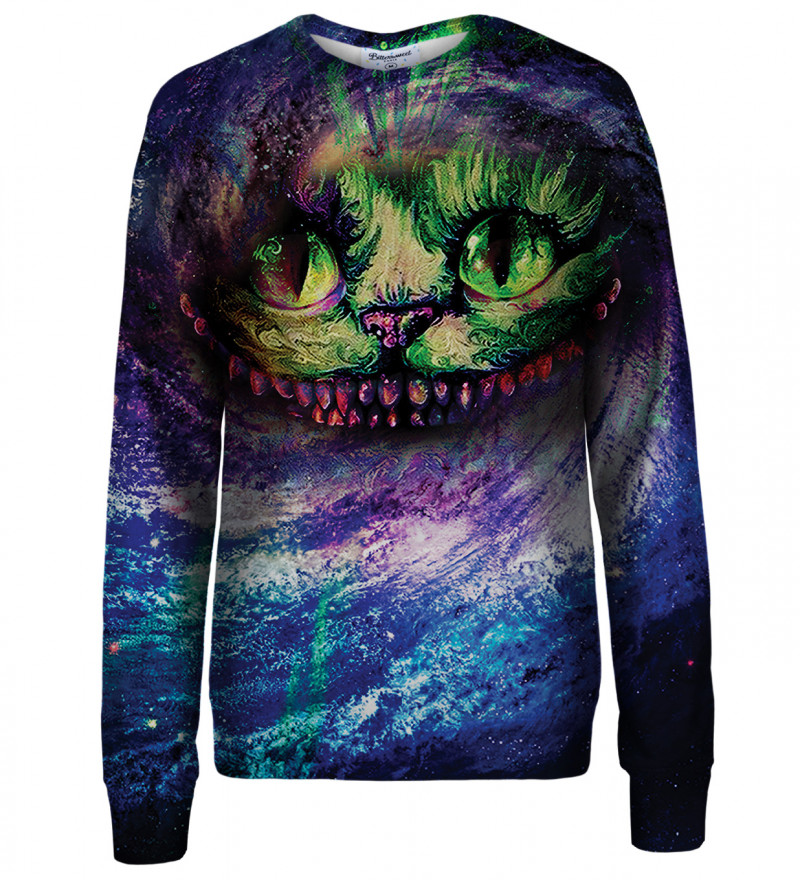 Magic Cat womens sweatshirt