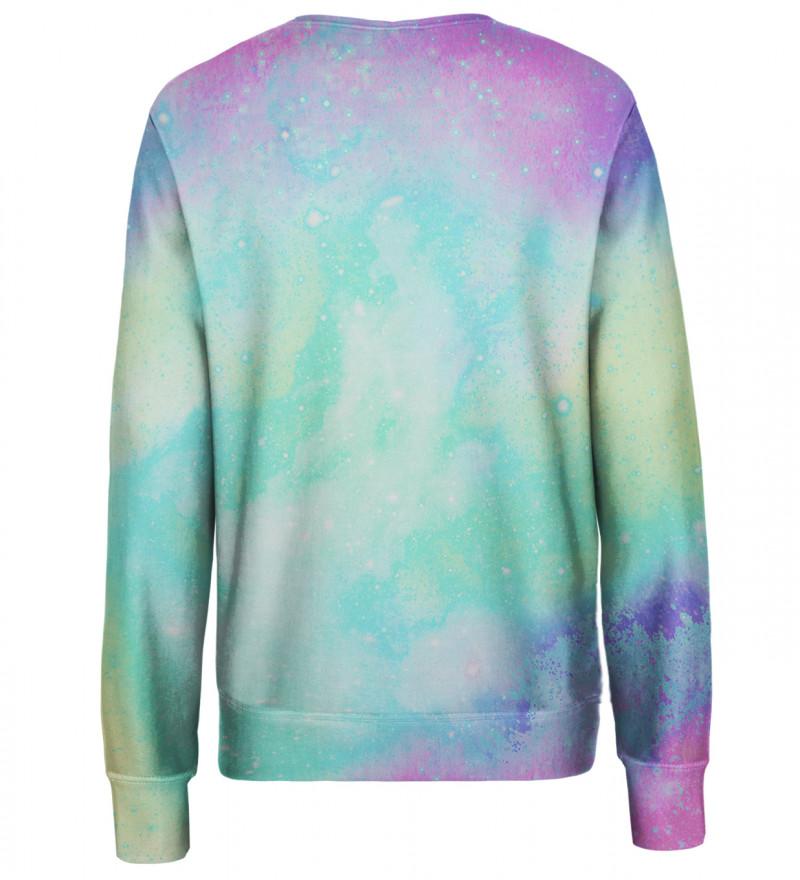 Multicolor womens sweatshirt