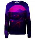Purple Fuji womens sweatshirt