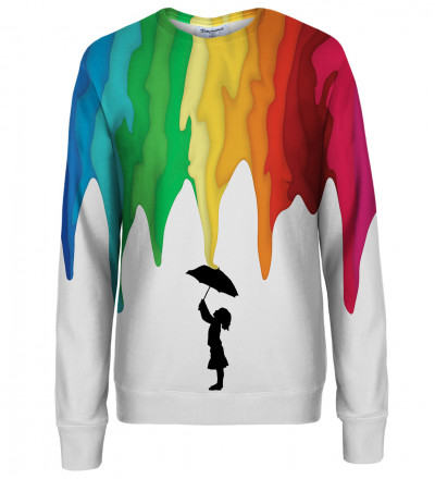 Rain Girl womens sweatshirt