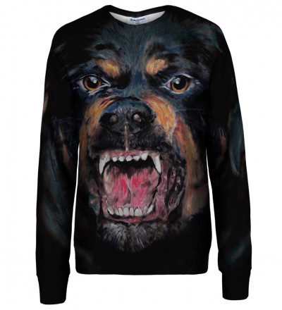 Rottweiler womens sweatshirt
