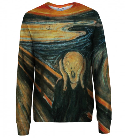The Scream womens sweatshirt