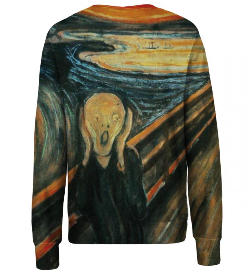 The Scream womens sweatshirt
