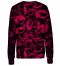 Skulls womens sweatshirt