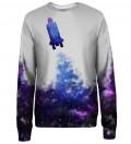Spaceship womens sweatshirt
