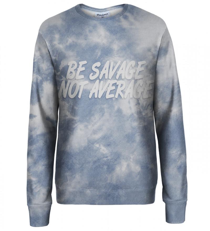 Tie dye womens sweatshirt