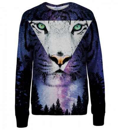 Tiger womens sweatshirt