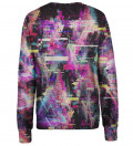 Total Glitch womens sweatshirt