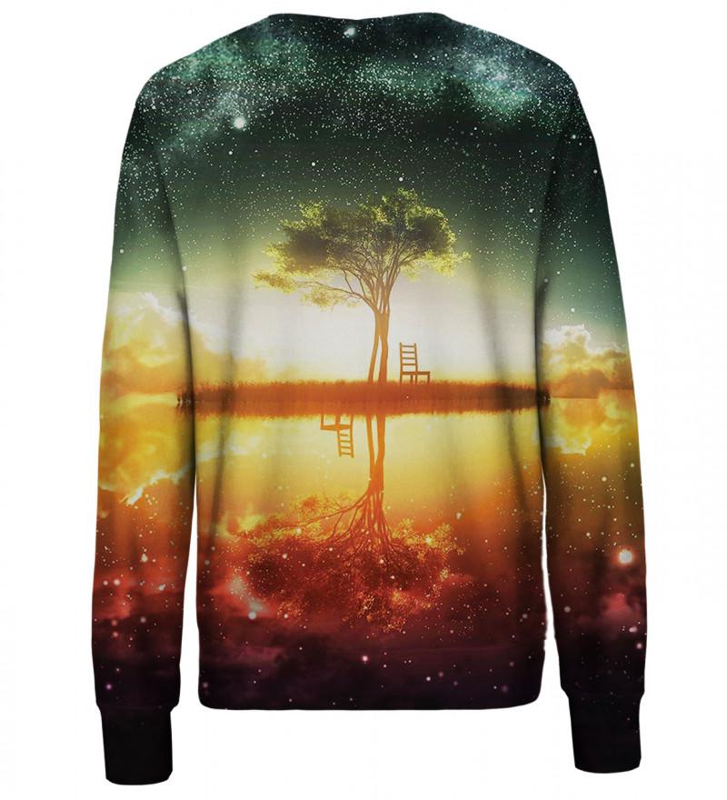 Tree womens sweatshirt