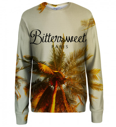 Tropical womens sweatshirt