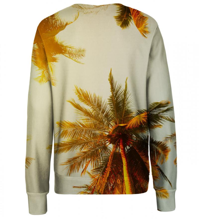 Tropical womens sweatshirt