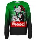 Weed Buddy womens sweatshirt