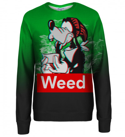 Weed Buddy womens sweatshirt