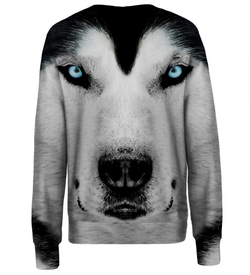 White Wolf womens sweatshirt
