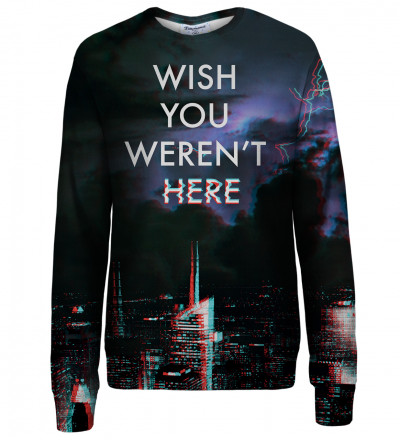 Wish womens sweatshirt