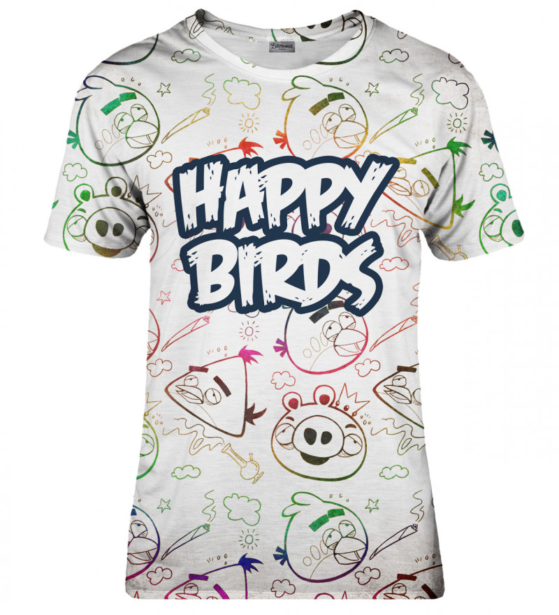 Happy Birds womens t-shirt
