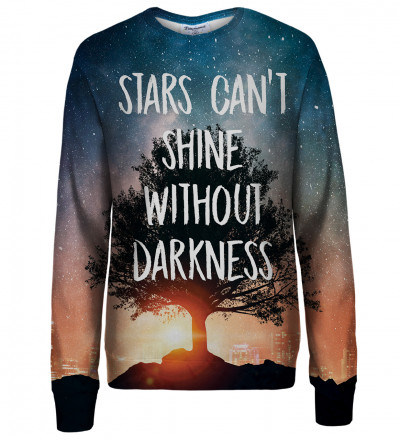 Stars womens sweatshirt