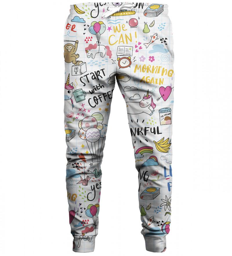Spodnie dresowe Doodles