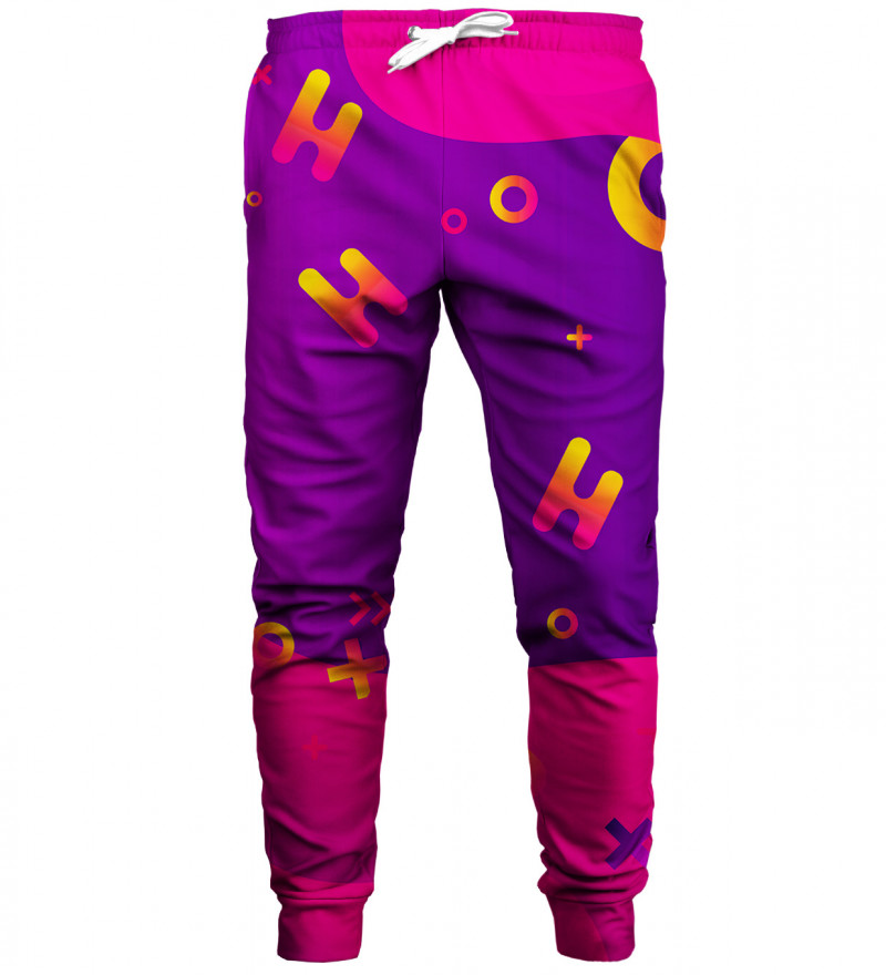Geometric sweatpants