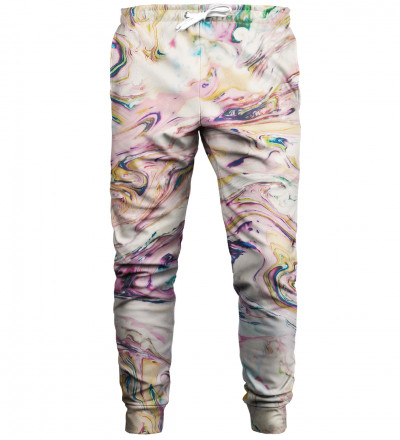 White Marble sweatpants