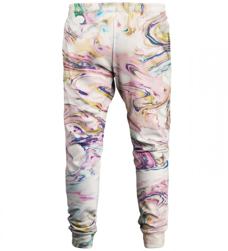 White Marble sweatpants