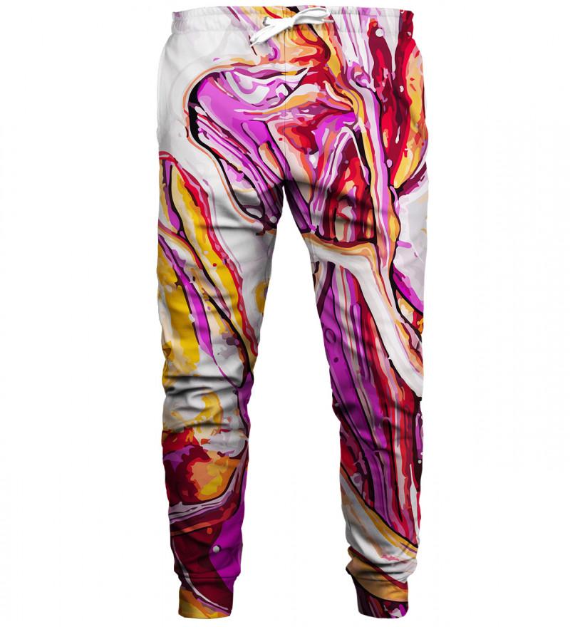 Split sweatpants
