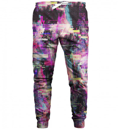 Total Glitch sweatpants