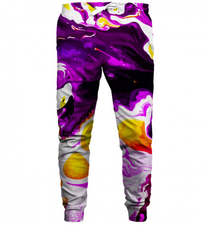 Violet Marble sweatpants