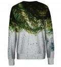 Palm Leaves womens sweatshirt