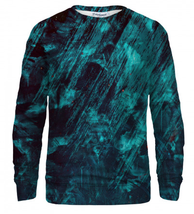 Blue Scratch sweatshirt